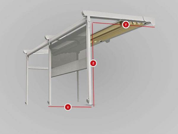producible dimensions of retractable roof