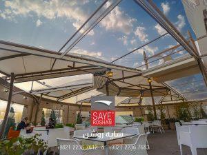 سقف-برقی-فود-کورت-مجتمع-تجاری-هروی-سنتر