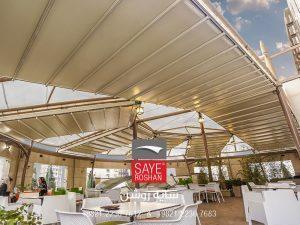 سقف-متحرک-فود-کورت-مجتمع-تجاری-هروی-سنتر