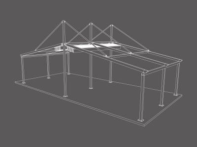 سقف متحرک مدل مهسایه دبل