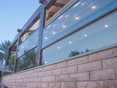 پنجره گیوتینی-پنجره برقی